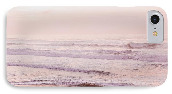 IPhone Case featuring the photograph Pink Pacific Beach by Bonnie Bruno