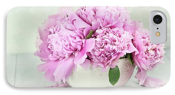 Pink Peonies IPhone Case by Stephanie Frey