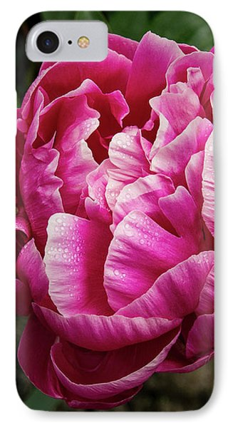 IPhone Case featuring the photograph Pink Peony by Jean Noren