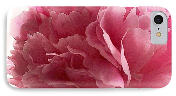 Pink Peony IPhone Case by Katy Mei
