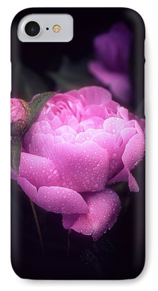 Pink Peony IPhone Case by Philippe Sainte-Laudy
