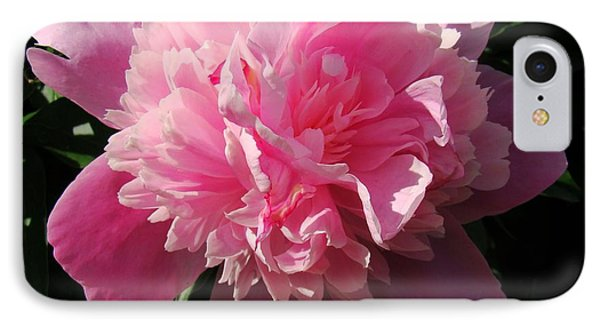 Pink Peony IPhone Case by Sandy Keeton