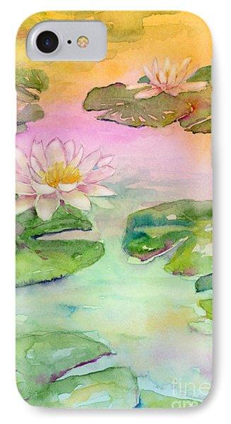 Pink Pond IPhone Case by Amy Kirkpatrick