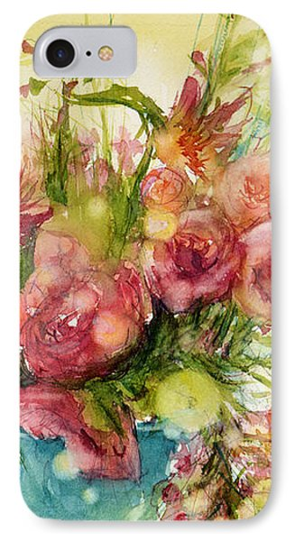 Pink Profusion IPhone Case by Judith Levins