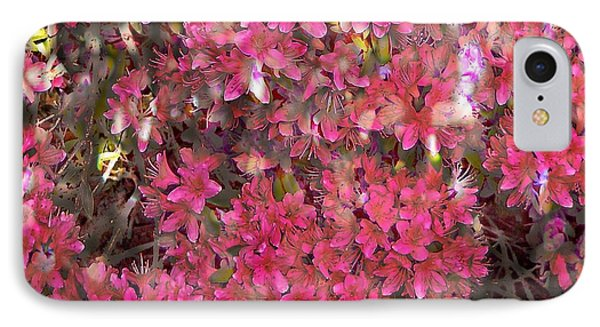 Pink Rhododendron IPhone Case by Thom Zehrfeld