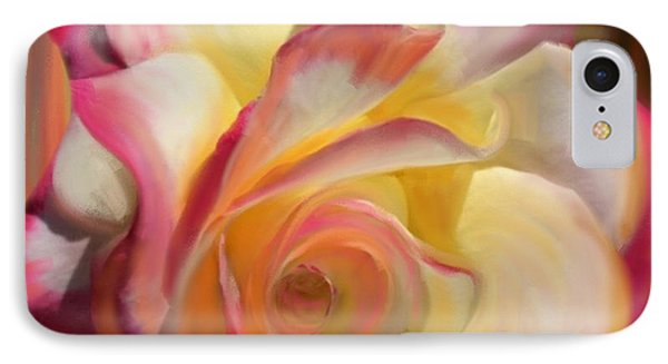 Pink Rose IPhone Case by Julianne  Ososke