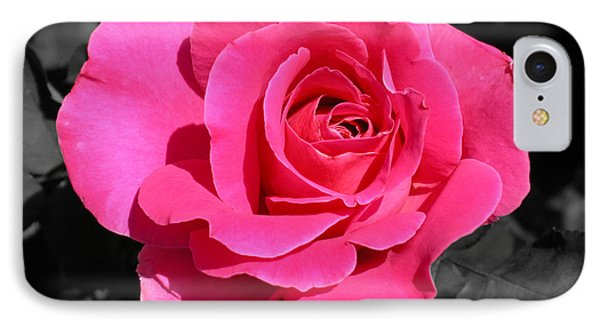 Perfect Pink Rose IPhone Case by Michael Bessler