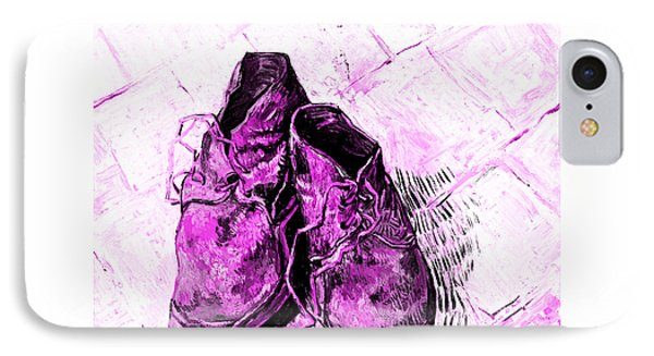 IPhone Case featuring the photograph Pink Shoes by John Stephens
