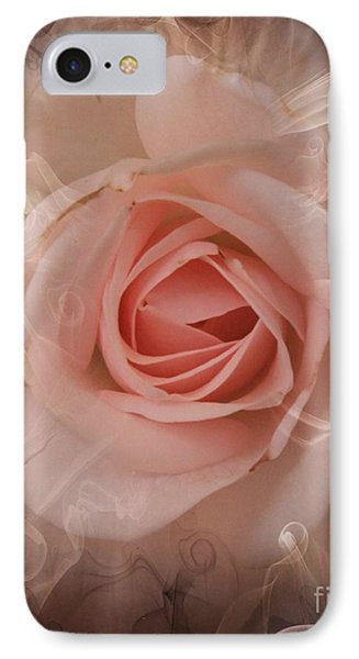 Pink Smokey IPhone Case by Clare Bevan