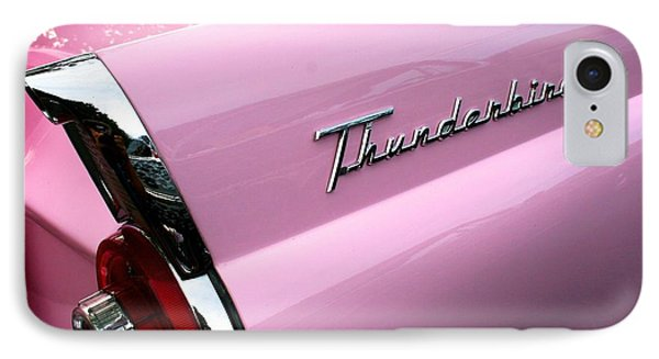IPhone Case featuring the photograph Pink Thunderbird by Polly Castor