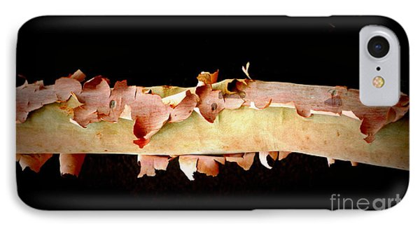 Pink Tree Bark IPhone Case by Lexa Harpell