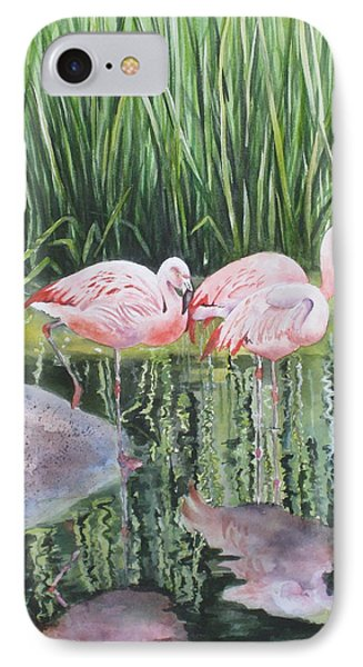 Pink Trio IPhone Case