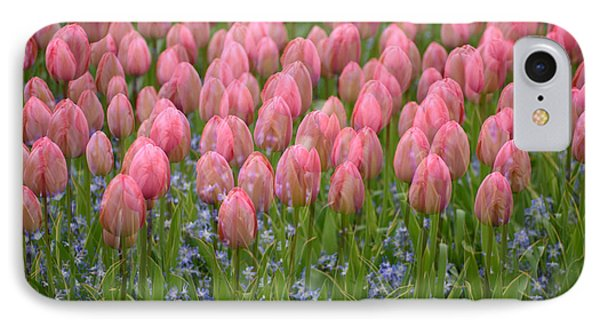 IPhone Case featuring the photograph Pink Tulips by Phyllis Peterson