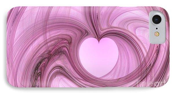 Pink Valentine IPhone Case