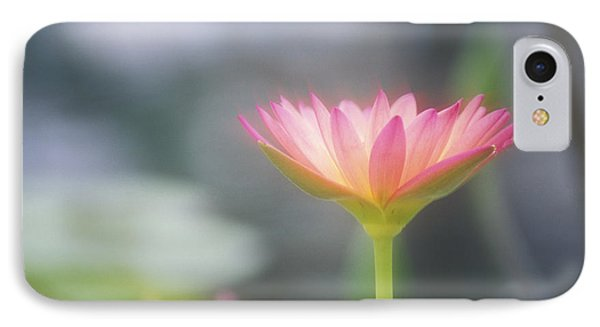 Pink Water Lily Phone Case by Ron Dahlquist - Printscapes