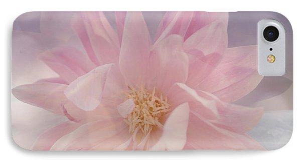 Pink Whisper Phone Case by Bonnie Bruno