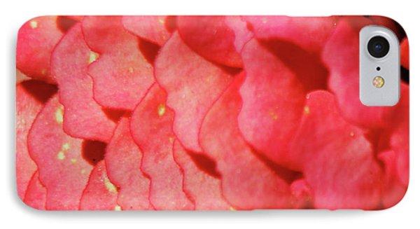 Zinna Flower Petals  IPhone Case by Carol F Austin