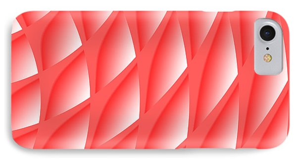 Pinked IPhone Case by Barbara Moignard