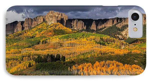 Pinnacles Nearing Peak IPhone Case by Jennifer Grover