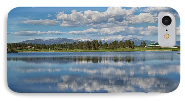 Pinon Lake Reflections IPhone Case by Jason Coward