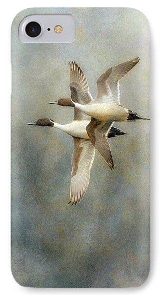 IPhone Case featuring the photograph Pintail Duo by Angie Vogel