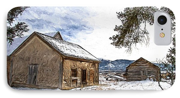 Pioneer Cabin Painterly Impression IPhone Case