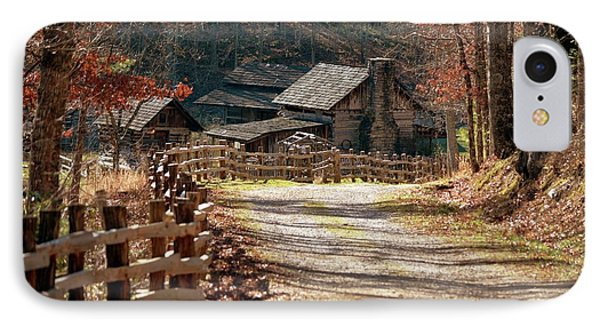 IPhone Case featuring the photograph Pioneer Farm by Brenda Bostic