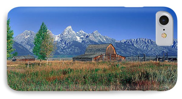 Pioneer Farm, Grand Teton National IPhone Case
