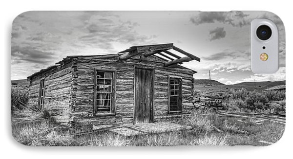 Pioneer Home - Nevada City Ghost Town IPhone Case by Daniel Hagerman