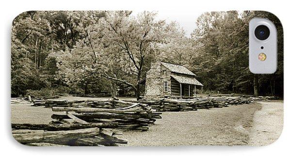 Pioneers Cabin Phone Case by Scott Pellegrin