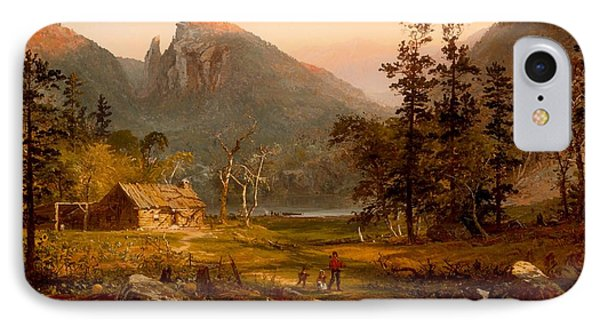Pioneer's Home At Eagle Cliff - White Mountains IPhone Case by Mountain Dreams