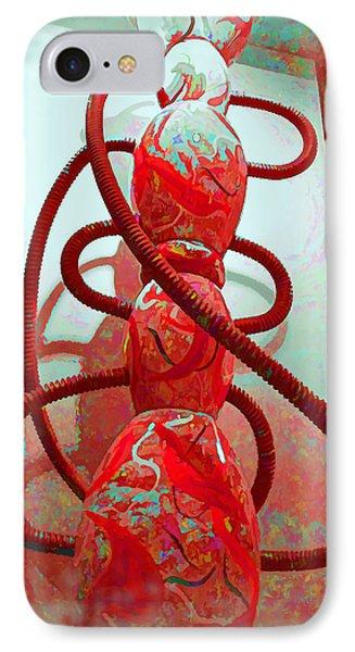 Pipe Dreams IPhone Case by Joan  Minchak