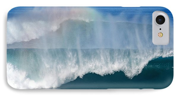 Pipeline Rainbow IPhone Case by Kevin Smith