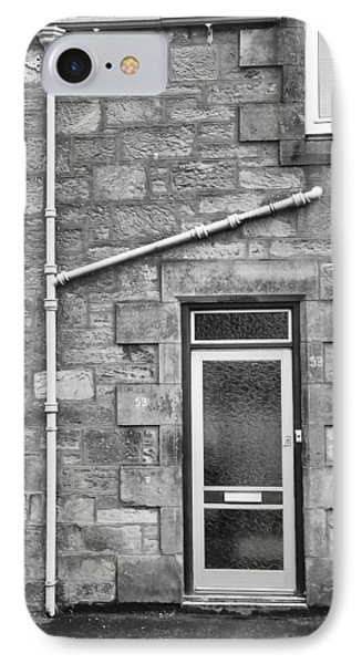 Pipes And Doorway IPhone Case by Christi Kraft