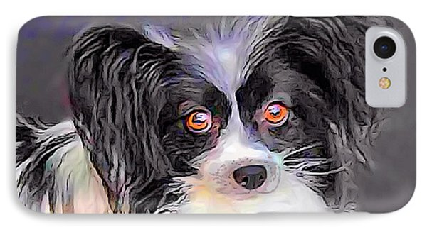 Pippin The Papillon IPhone Case