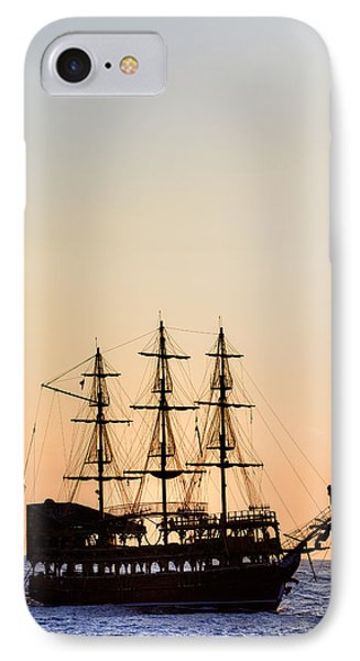 Pirate Boat IPhone Case by Joana Kruse