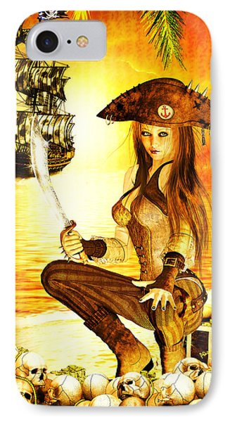 Pirate Booty IPhone Case