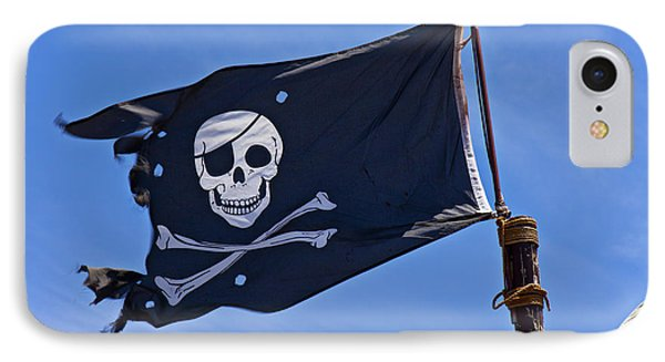 Pirate Flag Skull And Cross Bones Phone Case by Garry Gay