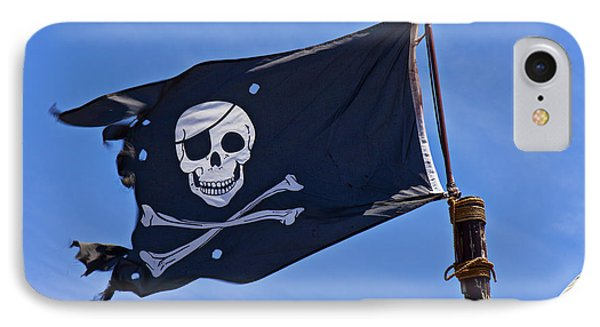 Pirate Flag Skull And Cross Bones IPhone Case by Garry Gay