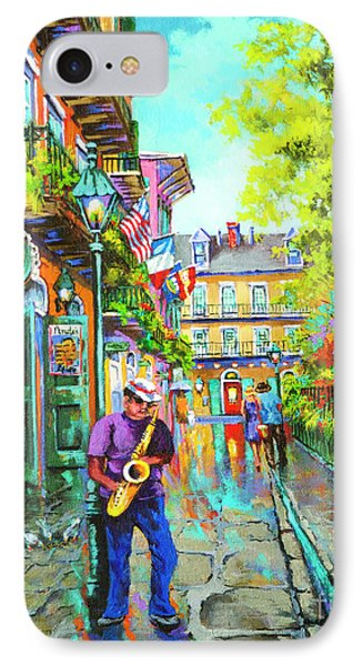 Pirate Sax  Phone Case by Dianne Parks