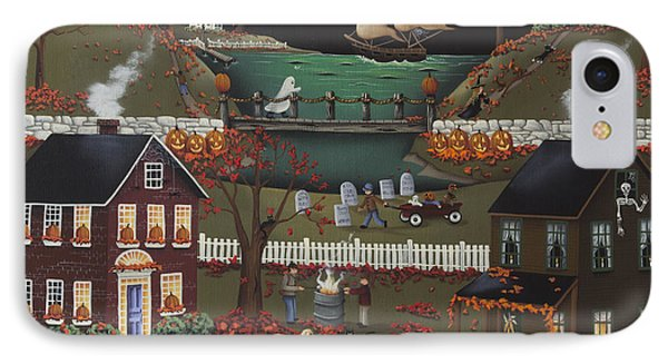 Pirate's Cove Halloween IPhone Case by Catherine Holman