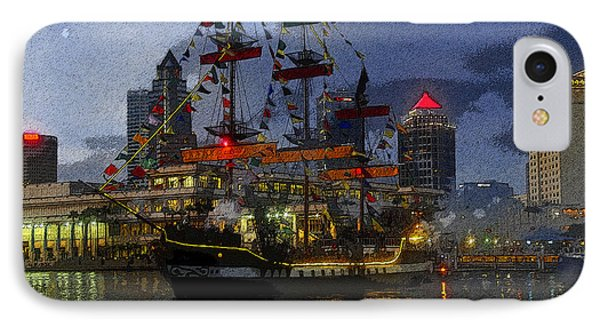 Pirates Plunder IPhone Case by David Lee Thompson