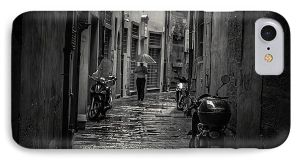 Pisa Back Alley IPhone Case by Chris Fletcher
