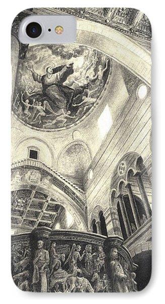 Pisa Duomo Phone Case by Norman Bean