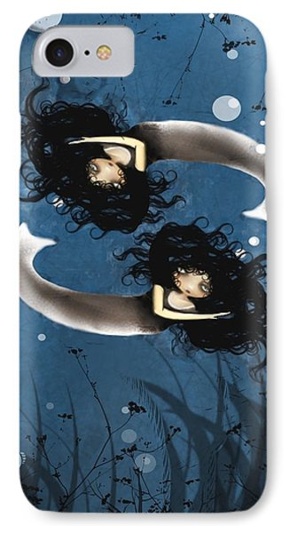 Pisces Phone Case by Charlene Zatloukal