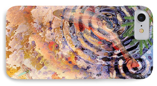 IPhone Case featuring the painting Pisces by Peter J Sucy