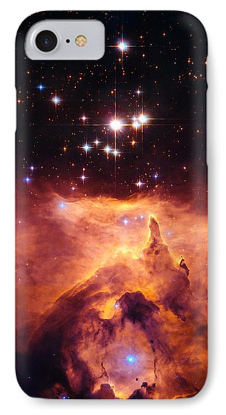 Pismis 24 And Ngc 6357 IPhone Case by Marco Oliveira