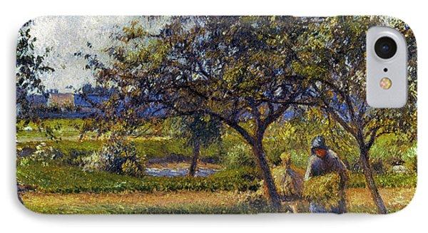 Pissarro: Wheelbarr., 1881 Phone Case by Granger
