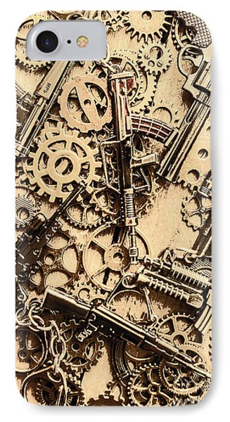 Pistol Parts And Rifle Pinions IPhone Case by Jorgo Photography - Wall Art Gallery