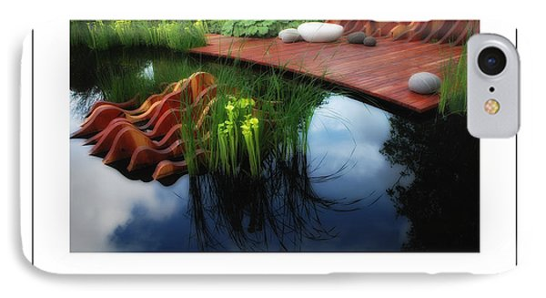 Pitcher Plant Garden 2 Poster IPhone Case by Mike Nellums